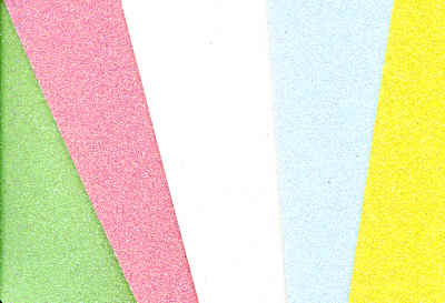 Glitter Card Sampler - Pastels