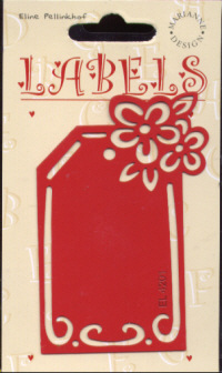 Label Art Template - 4201