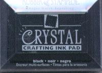 Rubber Stampede Crystal Ink Pad - Black