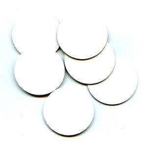 BAY6 Chipboard Inchies Circles