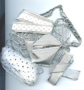 Ribbon Assortment - Silver or Gold