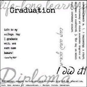 Karen Foster - Clear Overlay - Graduation