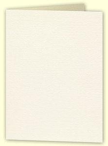 A5 Textured White/ Cream Card Blanks