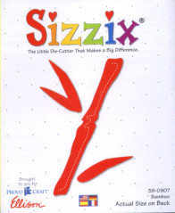 Sizzix Large Die - Bamboo