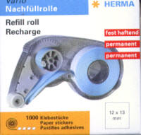 Herma Tab Dispenser Refill Roll - Permanent