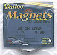 Darice Self adhesive Magnetic Strip 1/2