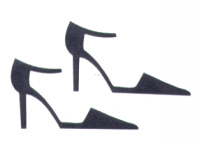 Light Arted Designs - Ankle Strap Shoes