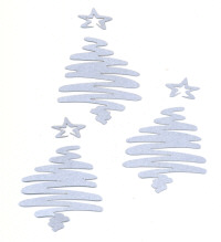 Light Arted Designs - Scribble Christmas Trees