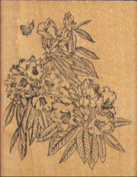 Embossing Arts Rubber Stamp - Wildflowers