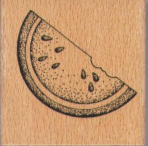 Rubber Stamp - Watermelon
