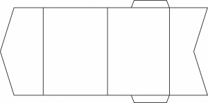 Double Panel EnFold - 148x105mm