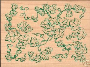 All Night Media Ivy Pattern Rubber Stamp