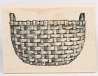 Great Impressions Rubber Stamp - Basket