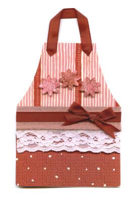 Handmade Card - Apron