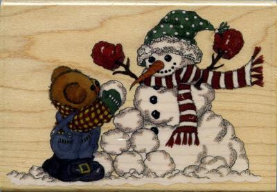 Hampton Arts - Teddy & Snowman
