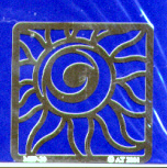 American Traditional Stainless Embossing Stencil - Summer Sizzle