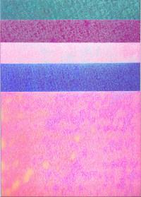 Pearl Rainbow Card - Pastels