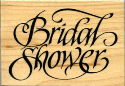 PSX Rubber Stamp - Bridal Shower