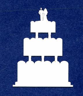 Light Arted Designs - Wedding Cake 3