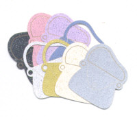 Light Arted Designs Laser Cut Fashion Shoes & Handbags - Glitter Pastel