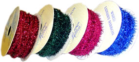 Wired Tinsel Ribbon
