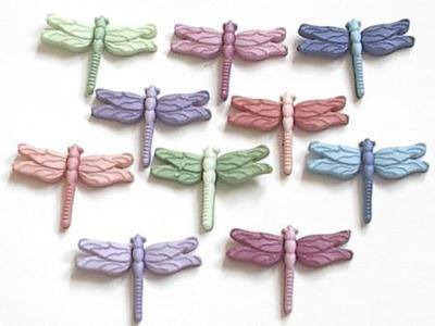 Buttons - Dragonflies
