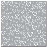 Stemma Hearts Silver