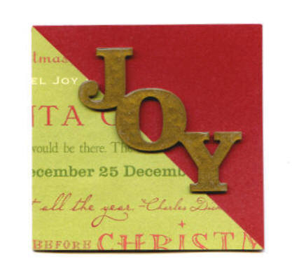 handmade card christmas mini joy
