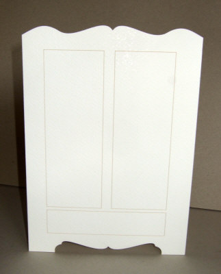card shaped wardrobe