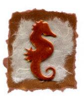 seahorse embossed2
