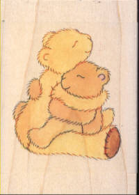 Personal Impressions Rubber Stamp - Hug Me Mummy