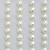 Self Adhesive Pearls - Ivory