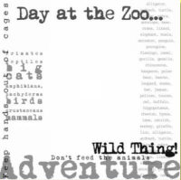 Karen Foster - Clear Overlay - Zoo