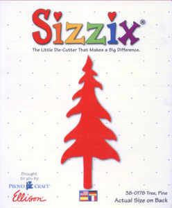 Sizzix Large Die - Pine Tree