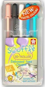Sakura Souffle 3D Roller Pens - Cool