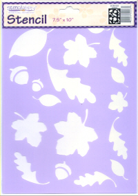 American Traditional Stencil - Leaves