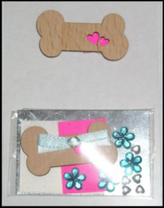 Crafts Too Bone Embellishment Kit