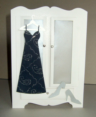 Handmade Card - Wardrobe