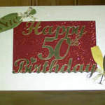 Card 50th Birthday