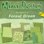 Deco Papers Green