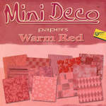 Deco Papers Red