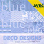 Deco Papers Blue