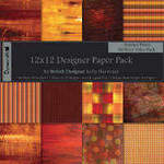 "Dovecraft Paper Pack 12"" Abstract"