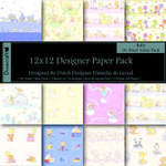 "Dovecraft Paper Pack 12"" Baby"