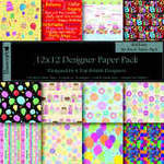 "Dovecraft Paper Pack 12"" Birthday"