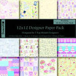 "Dovecraft Paper Pack 12"" Wedding"