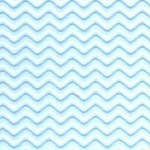 Corrugated Wave Aqua
