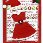 card sample mrs santa