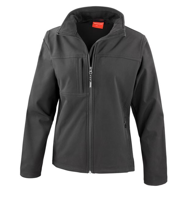 <!-- 005b -->Ladies Soft Shell Jacket