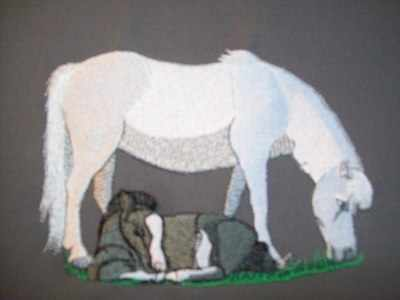 HMF8 Welsh Mare & Foal